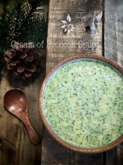 Cream of Broccoli Soup (raw, vegan, gluten-free, nut-free)