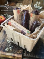 Maca Cherry and Peach Fruit Leather (raw, vegan, gluten-free, nut-free)