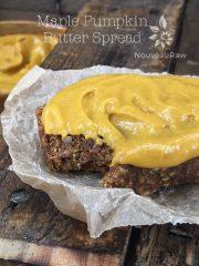 Maple Pumpkin Butter Spread (raw, vegan, gluten-free, nut-free)