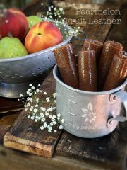 Pearmelon Fruit Leather (raw, vegan, gluten-free, nut-free)