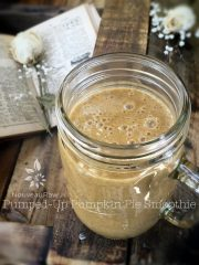 Pumped-Up Pumpkin Pie Smoothie  (raw, vegan, gluten-free)