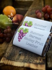 Summer Harvest Medley Fruit Leather (raw, vegan, gluten-free, nut-free)
