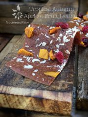 Tropical Autumn Apricot Fruit Leather (raw, gluten-free, nut-free)