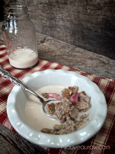 The Soggy Cereal Test, 30 minutes later result, still crispy