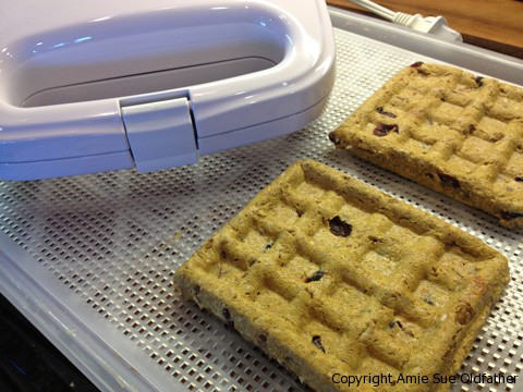 Raw Waffles are ready with Rival Waffle Maker