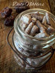Date Nibblers (raw, vegan, gluten-free, nut-free)