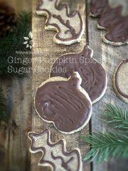 Ginger Pumpkin Spiced Sugar Cookies (raw, vegan, gluten-free)