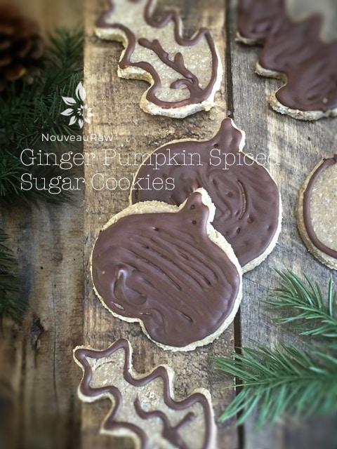 Ginger Pumpkin Spiced Cookies