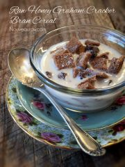Honey Graham Cracker Bran Cereal (raw, vegan, gluten-free)