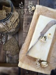 Tarragon & Mustard Vegan Cheese (high-raw, vegan, gluten-free)