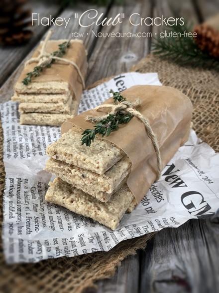 raw, vegan, gluten-free club crackers
