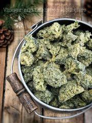 Vinegar and Dill Broccoli Nibblers (raw, vegan, gluten-free)