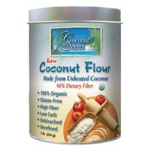 coconut flour at Nouveau Raw
