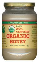 YS Organic Bee Farms CERTIFIED ORGANIC RAW HONEY 100% CERTIFIED ORGANIC HONEY Raw, Unprocessed, Unpasteurized – Kosher 32oz