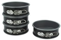Kaiser Bakeware Noblesse Non-stick Mini Springform Pans, Set of 4
