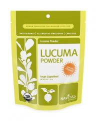 Navitas Naturals Lucuma Powder, 8-Ounce Pouches (Pack of 2)