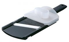 Kyocera CSN-202-BK Adjustable Mandolin Slicer, Black