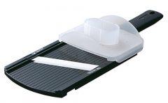 Kyocera CSN-202-BK Adjustable Mandolin Slicer, Black
