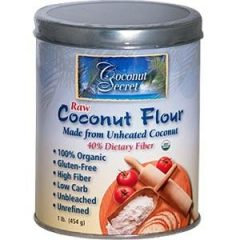 Coconut Secret Raw Coconut Flour, 16-Ounce