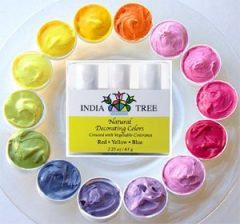 India Tree Natural Decorating Colours