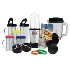 Magic Bullet Deluxe 25 pc Set Blender Mixer