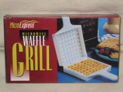 Vintage Microwave Waffle Grill Maker