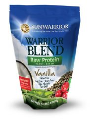 Sunwarrior Warrior Blend Powder, Vanilla, 2.2 Pound