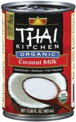 Thai Kitchen Organic Coconut Milk, 13.66-Ounce Cans (Pack of 6)