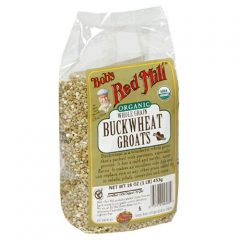 Bob's Red Mill Organic Whole Grain Buckwheat Groats Raw, 16-Ounce Packages (Pack of 4)
