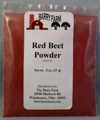 Red Beet Powder, 2 oz.