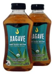 Xagave Premium Blend Organic Agave Nectar, 23.5-Ounce/500ml (Pack of 2)