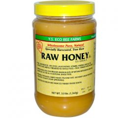 Y.S. Organics RAW Honey 3 lbs