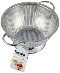 Tovolo Stainless Steel Perforated Colander, Large