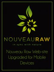 Nouveau Raw Web-site Upgraded for Mobile Devices