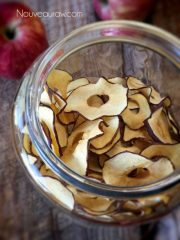 Dehydrating Apples (raw, vegan, gluten-free, nut-free)