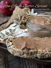 Apple Butter Spread (raw, vegan, gluten-free, nut-free)