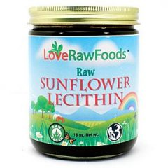 Love Raw Foods Sunflower Lecithin – Raw 16 Oz.