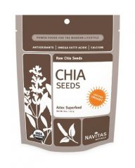 Navitas Naturals Chia Seeds, 16-Ounce Pouches
