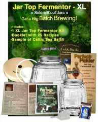 Perfect Pickler Mason Jar Kit – XL