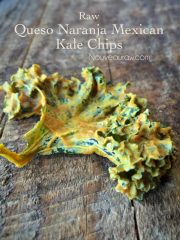 Queso Naranja Mexican Kale Chips (raw, vegan, gluten-free)