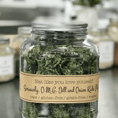 Seriously,-O.M.G.-Dill-and-Onion-Kale-Chips-in-labeled-jar