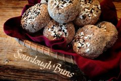 Sourdough-Buns