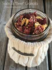 "Tropical ""Beet"" Granola (raw, vegan, gluten-free, nut-free)"