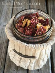"Tropical ""Beet"" Granola (raw, vegan, gluten-free, nut-free)"