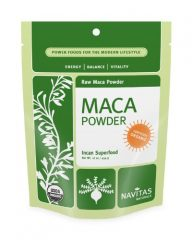 Navitas Naturals Maca Powder, 16-Ounce Pouches