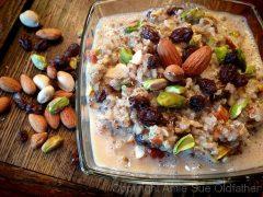Chia Quinoa Kheer (Indian Rice Pudding) (raw, vegan, gluten-free)
