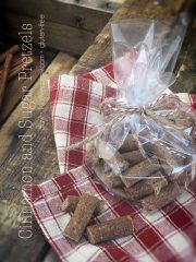 Cinnamon and Sugar Pretzels (raw, vegan, gluten-free)