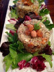 Quinoa and Apricot Salad (raw, vegan, gluten-free)