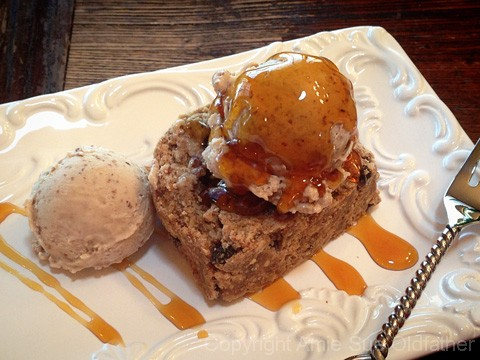 Sunday Evening Snacks Top with a scoop or two of Creamy Raisin Ice Cream