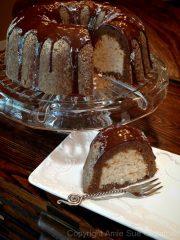 Almond Cardamon Bundt Cake (raw, gluten-free)